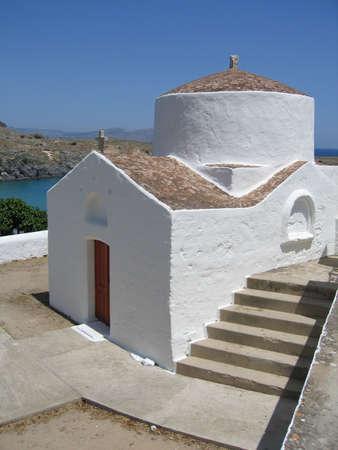 rhodes: Small Chapel, Rhodes, Greece