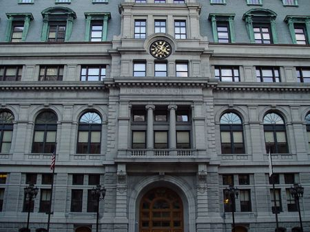 Boston Courthouse in Boston Massachusetts. Imagens
