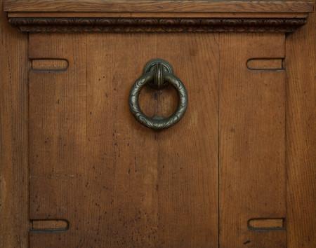 Antique door handle Reklamní fotografie