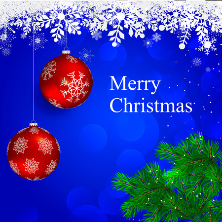 Mery Christmas Illustration