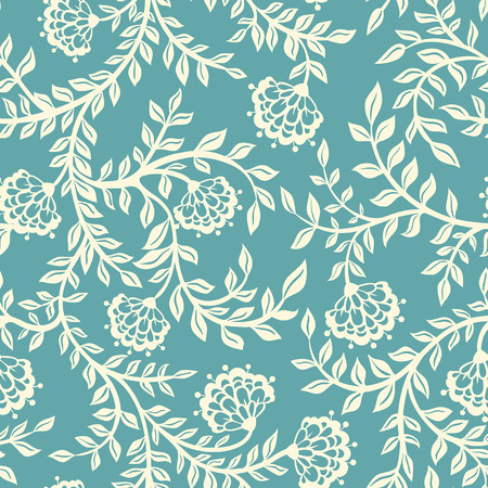 floral backgrounds: Ethnic pattern
