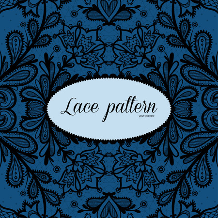 lace vector: Lace vector design. Illustration