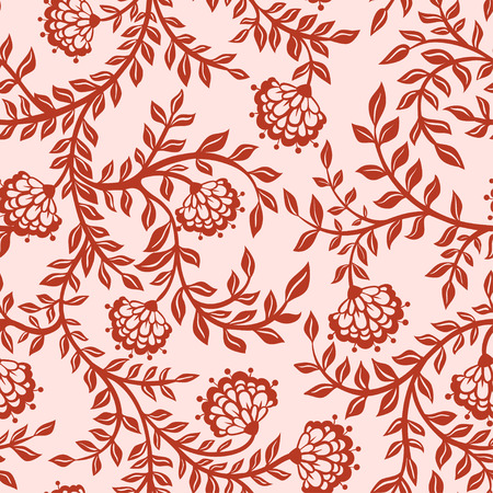 Floral autumn background with flowers.