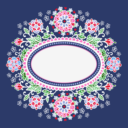 oval frame: Hand-Drawn Abstract Decorative Drawing Vector Illustration with Oval Frame Shape.