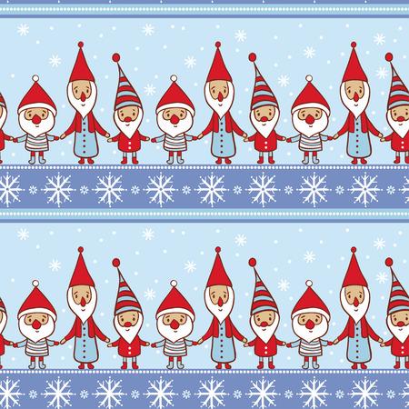 Vector illustratie op het thema van het nieuwe jaar. Stock Illustratie