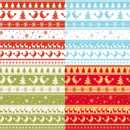 christmas blue: Christmas seamless texture in traditional colors. Seamless Christmas Pattern Tile Collection. seamless pattern with New Years.
