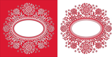 oval shape: Hand-Drawn Abstract Decorative Drawing Vector Illustration with Oval Frame Shape.