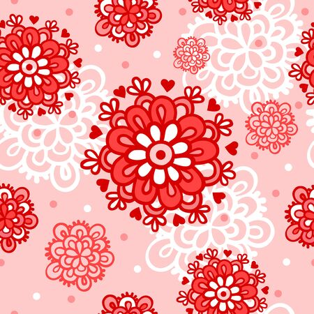 love wallpaper: Seamless pattern can be used for wallpaper, pattern fills, web page background, surface textures. Love. Illustration