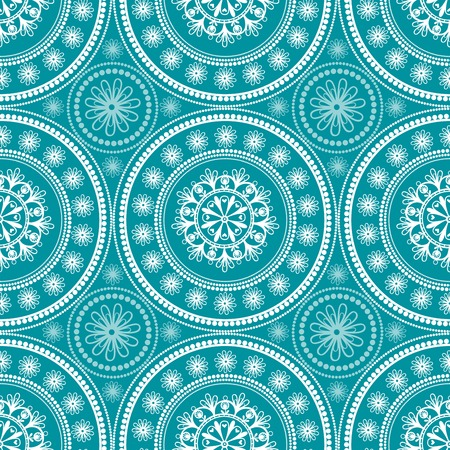pattern antique: seamless illustration with lace flower.