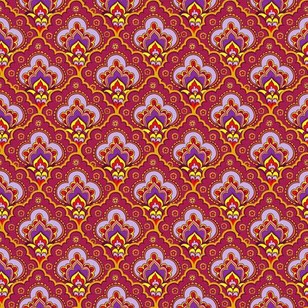 Vector illustratie van de Indiase stijl.