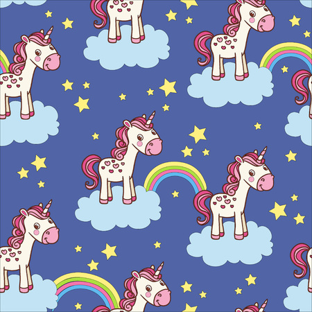 stars background: Vector childish background can be used for wallpapers, pattern fills, web page backgrounds,surface textures.