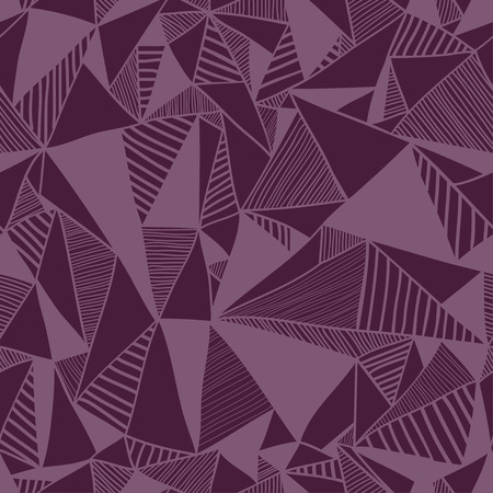 textile texture: Seamless texture with triangles, mosaic endless pattern.