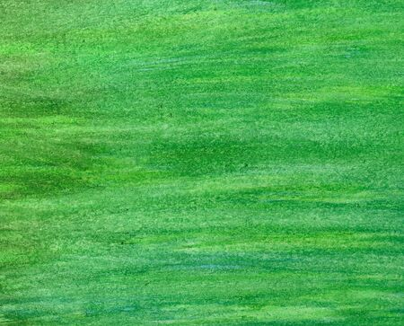 abstract green stroke watercolor background.  Stock Photo