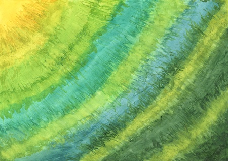 Abstract hand drawn paint background simulating painting on silk. Imagens