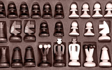 chess knight: box with a chess