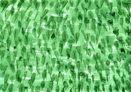 Abstract green watercolor background on a paper Stock Photo