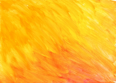watercolor paint. abstract yellow background. photo