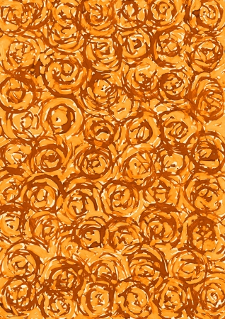 Abstract brown circle background from watercolor Stock Photo - 16618803