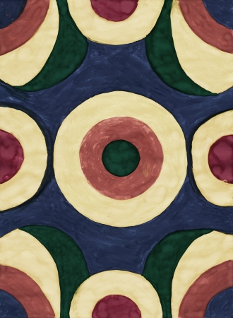 Abstract circle background from watercolor Stock Photo - 16618818