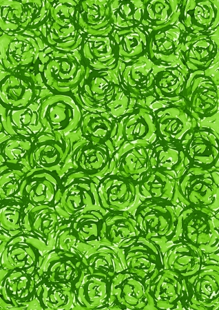 Abstract green circle background from watercolor Stock Photo - 17451450