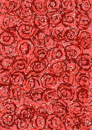 contrast resolution: Abstract red circle background from watercolor