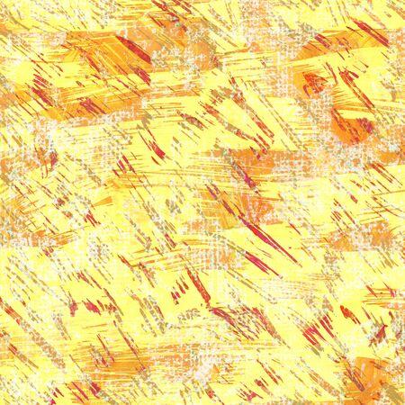 Bright yellow handdrawn backdrop dry brush. Imagens - 40033523