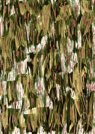 Abstract dark green watercolor stroke as background Imagens - 44355195