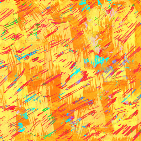 contrast resolution: Art yellow strokes  as background.