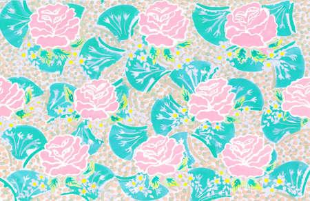 flowers watercolor artwork as background, colorful hand drawn illustration, creative artwork 版權商用圖片 - 159604704