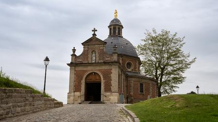 Chapel 'Onze-Lieve-Vrouw van Oudenberg' on top of the Oudenberg, Geraardsbergen, Flanders, Belgium