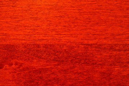 Close up of cherry wood cabinet Stock Photo