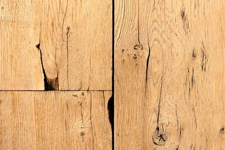 Abstract background of old wooden cracked planks