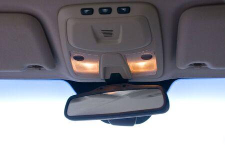Cars mirror Stock Photo