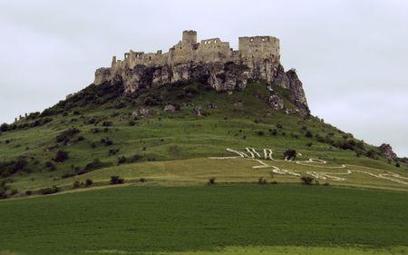 slovakia: antico castello  Archivio Fotografico