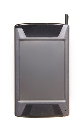 PDA isolated on white background photo