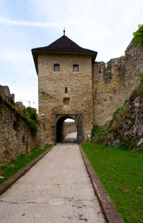 entrance to the castle photo