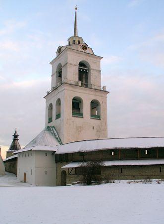 old church in Pskov. Russia photo