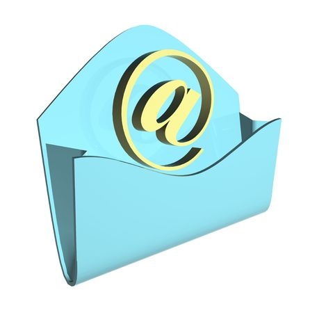 envelope e-mail concept