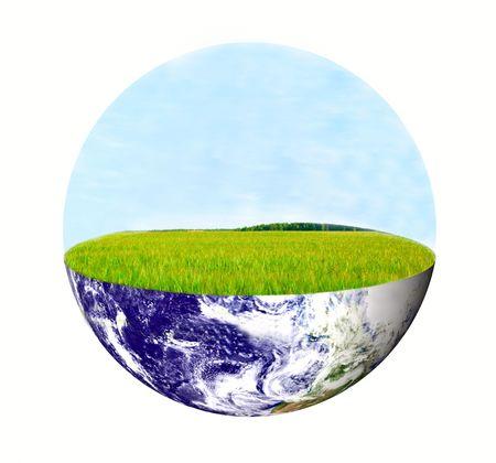 green earth. Eco concept photo