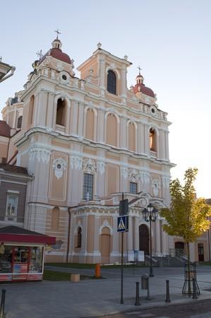 casimir: Church of St. Casimir. Vilnius. Lithuania.
