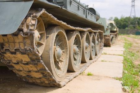 Tank Tracks  photo