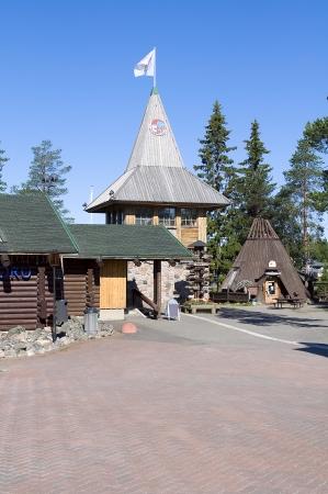 Santa claus holiday village  Finland