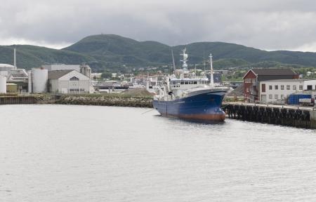 fishing on Norwegian fjord