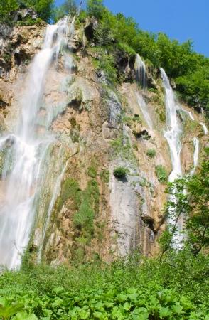 Plitvice lakes - national park of Croatia