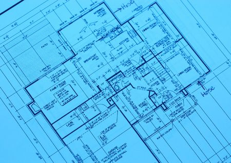 blueprint of a new housing project in a new development
