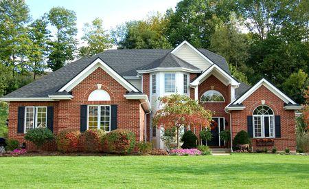 realty residence: Luxury house Stock Photo