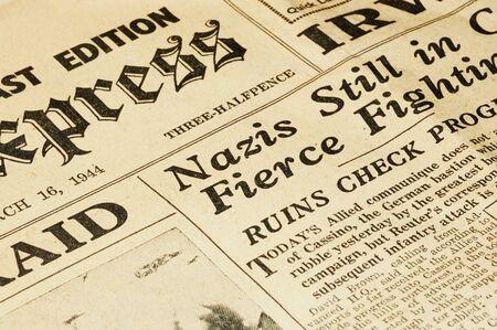 world war ii british newspaper dated march 16 1944