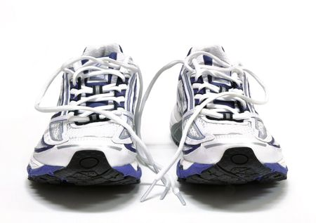 athletic wear: Womens running shoes