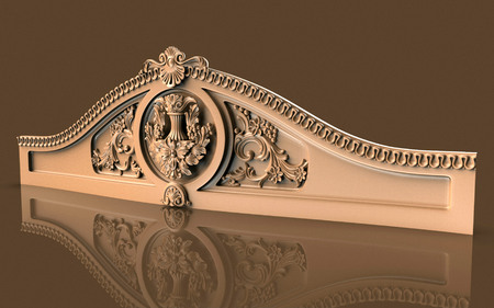Silver and gold is an old architectural model.