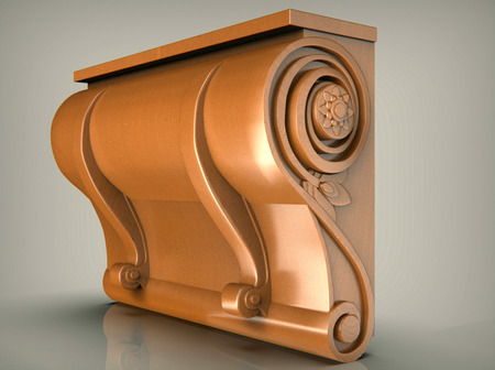 Ancient architectural images of a decor, art decoration and scenery.